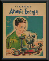 1950s Gilbert Atomic Energy Lab Play Set Ad Reprint *191