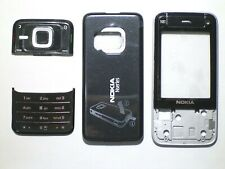 Black Fascia facia housing cover faceplate for Nokia N81 black -00000000000
