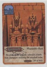 1994 Spellfire: Master the Magic - Ravenloft First Edition Pharoah's Rest 2k3