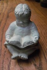 "ISABEL BLOOM RETIRED GIRL WITH A BOOK SIGNED BY ARTIST 3.3/4"" TALL"