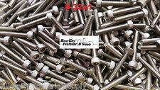 (25) 8-32x1 Socket Allen Head Cap Screw Stainless Steel #8 x 1