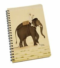 A5 Notebook Elephant Print 120 Page Notepad Diary Book Journal School