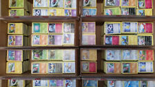 LOT of 100 REAL Pokemon Cards Common/Uncommon All in Excellent Condition!! Bulk