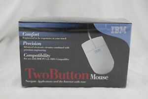 IBM Two Button Mouse NEW SEALED A094