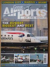 Great Airports of the World Volume 3 London City Madrid Miami Toronto Frankfurt