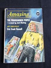June Amazing Stories Science Fiction Magazines