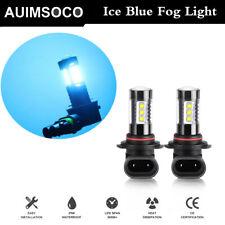 Pair 9140 9145 H10 Hb3 9005 Led 100W 6000K White Fog Light Driving Drl Bulb(Fits: Neon)