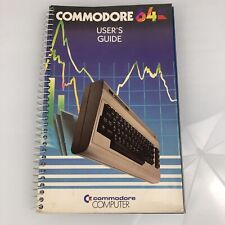 Commodore 64 Computer User's Guide 1st Edition 8th Printing Users Manual 1984