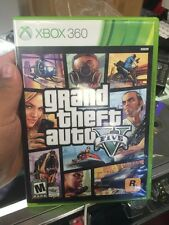 Microsoft Xbox 360 Grand Theft Auto V 5 Five GTA Complete in Case Map Manual