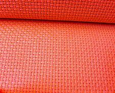 Rosso brillante 8 Count Binca Zweigart Aida 50 x 60 CM IDEALE PER DA CUCIRE PER BAMBINI