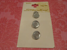 Vintage Carded Small Plastic Buttons Sew Craft Jewellery Handbag Scrapbook Quilt