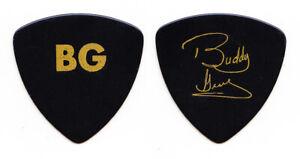 Vintage Buddy Guy Signature BG Black/Gold Guitar Pick - 1980s Tours