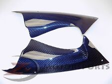 2008-2016 Yamaha R6 Upper Dash Air Cover Panel Fairing 100% Carbon Fiber Blue