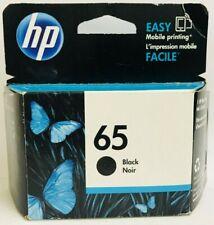 New Genuine HP 65 Black Ink Cartridge Deskjet 3720 3722 3730 ENVY 5010 5012
