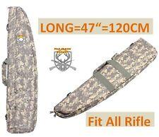 "47"" Gun Rifle Bag Shotgun Soft Gun Storage Pack Case Carrier Padded Hunting ACU"