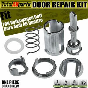 Door Lock Cylinder Barrel Repair Kit for Volkswagen Golf Audi A6 Quattro 97-06