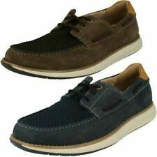 Zapatos informales de hombre náuticos textiles