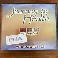 Journey to Health: Mind, Body, Spirit - The Complete 3 DVD Set (26 Lessons)