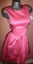 FRENCH CONNECTION PINK CUT-OUT DRESS SZ-8 NWT