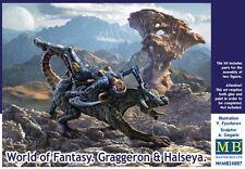 MB24007 1/24 MASTERBOX World of Fantasy Graggeron & Halseya