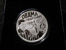 COA 391 2016 1oz Seven 7 Sins Obama Pervert Reverse Proof SILVER SHIELD SSG Coin