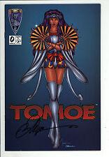 Tomoe (1996) #0 Tucci Cover Signed William (Bill) Tucci no COA 1st Print VF/NM