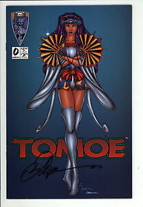 Tomoe (1996) #0 Tucci Cover Signed William (Bill) Tucci no COA 1st Print VF/NM