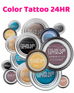 Maybelline Color Tattoo 24HR Gel Cream Eye Shadow NEW Choose Your 24 Hour Colour