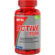 MET-Rx Active Man Multivitamin for Men with Vitamins D, C, E and B12 90 Tablets