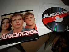 Justincase Justin Case FULL CD album advance cardboard picture sleeve