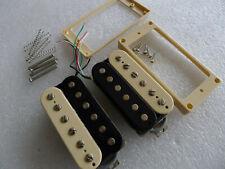 Pair Epiphone Probucker Vintage Humbucker Pickups Zebra 8.3k/9.2k 4 Conductor