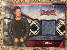 2017 Topps Women's Division Walmart Tamina Wrestlemania 32 Mat Relic #d 82/199