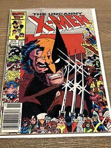 UNCANNY X-MEN # 211 (Marvel Comics 1986) 1st Appearance Marauders Key 25th Cover