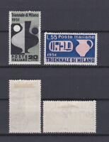 ITALY 1951 IX triennale Milano Mint *  Sc.582-583 (Sa.666/667)