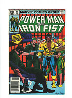 Power Man and Iron Fist #89 FN+ 6.5 Newsstand Marvel Comics Bronze Age 1983
