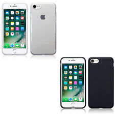 Silicone Slim TPU Gel Back Protector Case Cover For Apple iPhone 7 iPhone 8