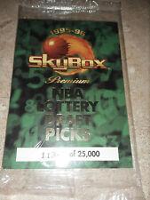 1995-96 Skybox Premium NBA Lottery Draft Picks Sealed Set Kevin Garnett  Rookie