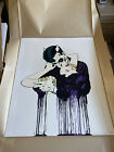 D*FACE BEND EMBRACE  Signed Print #/135 DFACE SOLD OUT MINT STORED FLAT