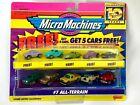 MICRO MACHINES 1997 7 ALL TERRAIN BLAZER EXPLORER LAND ROVER  + 5 FREE US NEW