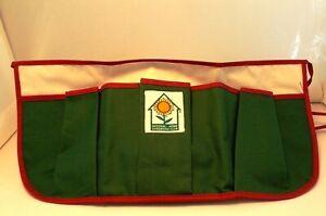 Canvas 3 Pocket GARDENING APRON Tool Belt