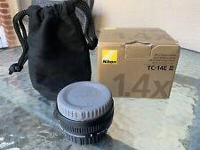Nikon AF-S Teleconverter TC-14E III 1.4x -Near Mint Used Great Shape