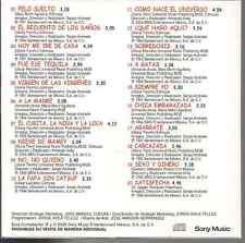 rare BALADA 80s 70s CD slip Gloria Trevi PELO SUELTO el recuento de los daños