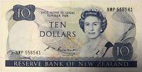 NOUVELLE-ZELANDE - 10 DOLLARS - Billet de banque (B+)