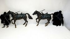 Lord of the rings action figure Ringwraith with Horses two Paires Toybiz