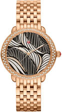 Brand New! Michele Serein Mid Diamond Rose Gold Women's Watch - MWW21B000091