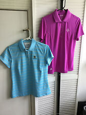 Women's 2 Pieces - Adidas Golf Shirts Sz M Spring Is & Oldfield SC NWOT (2152)