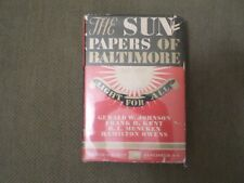 Sun Papers of Baltimore 1837-1937 SIGNED 1st ed H. L. Mencken Rare James M Cain