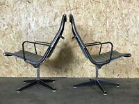 2x EA 116 Aluminium Group Sessel von Charles & Ray Eames für Herman Miller 60er