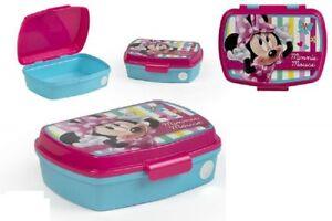 Brotdose Brotbox Lunchbox Kindergarten KiTa Schule Disney Minnie Maus