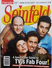 Seinfeld 30th Anniversary Celebration TVs Fab Four  FREE SHIPPING CB
